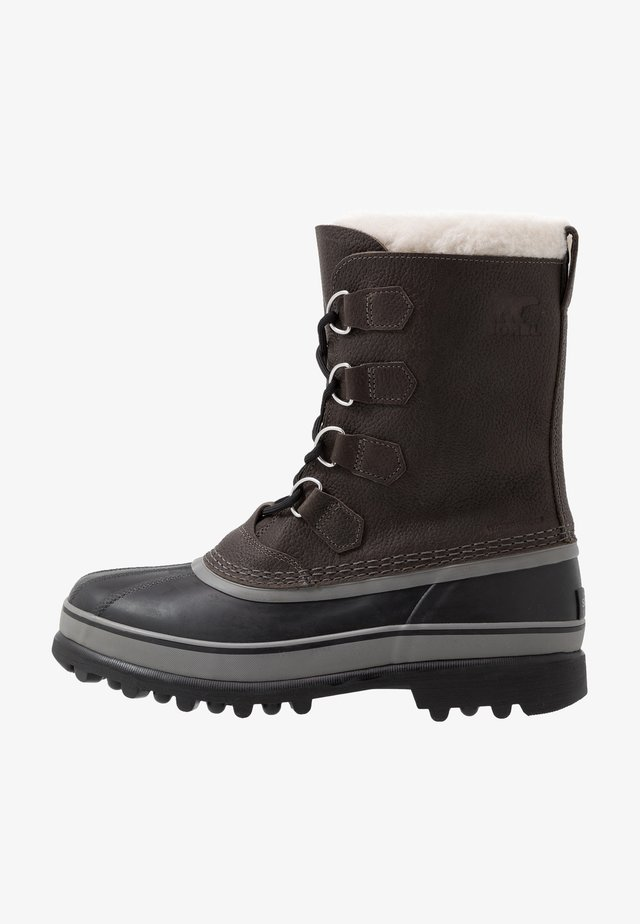 CARIBOU - Snowboot/Winterstiefel - quarry/black