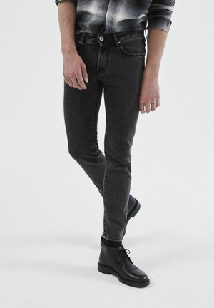 JEANS  - Slim fit jeans - gris anthracite