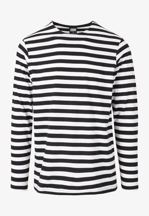 STRIPE LS - T-shirt à manches longues - white/black