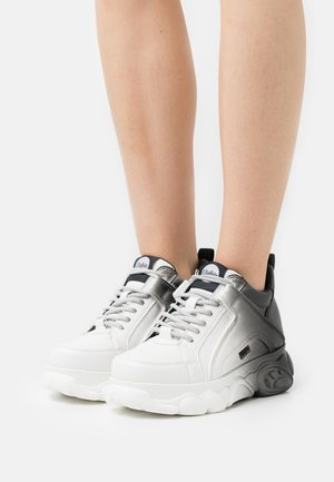 VEGAN CORIN - Sneakers laag - black/white