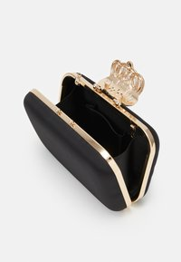 Forever New - STEPHANIE EMBELLISHED CLASP - Clutch - black - 2