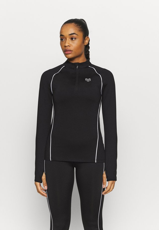 TANICE FITNESS RUNNER - Funktionströja - black