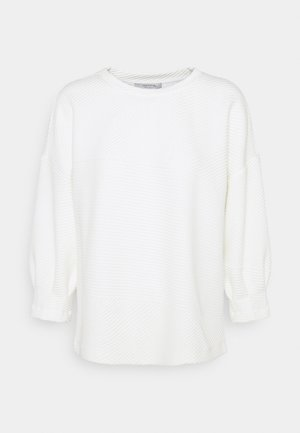 Long sleeved top - light creme