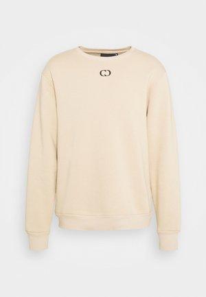 ESSENTIAL HOOD - Sweatshirt - beige
