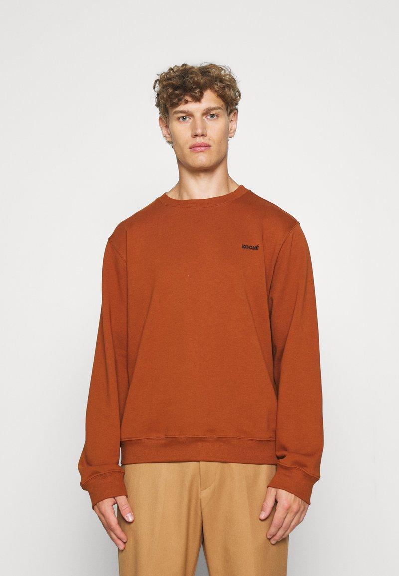 KOCHÉ - UNISEX - Sweater - rust