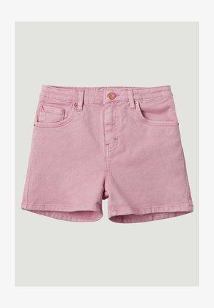 Džínové kraťasy - sea pink
