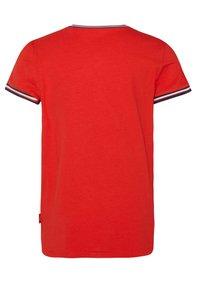 WE Fashion - MET PAILLETTENAPPLICATIE - T-shirt imprimé - red - 1