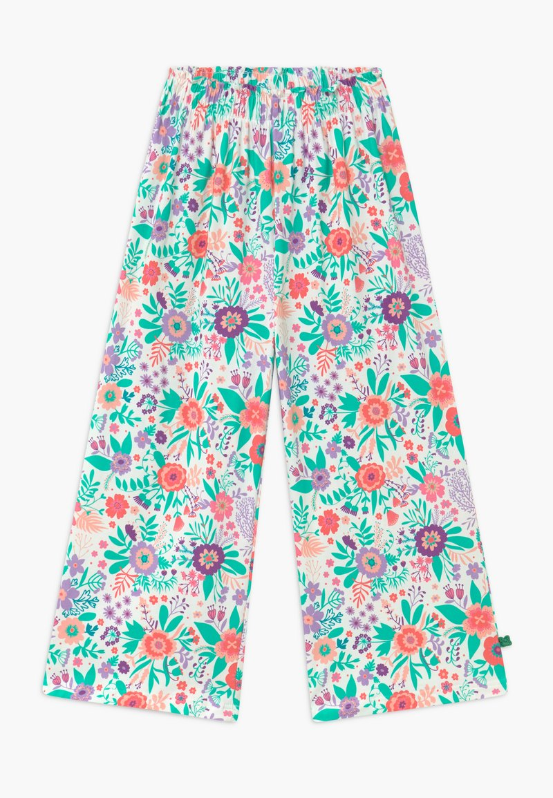 Fred's World by GREEN COTTON - ALOHA  - Trousers - white