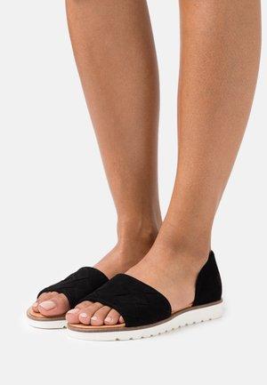 VALENTINA - Sandals - black