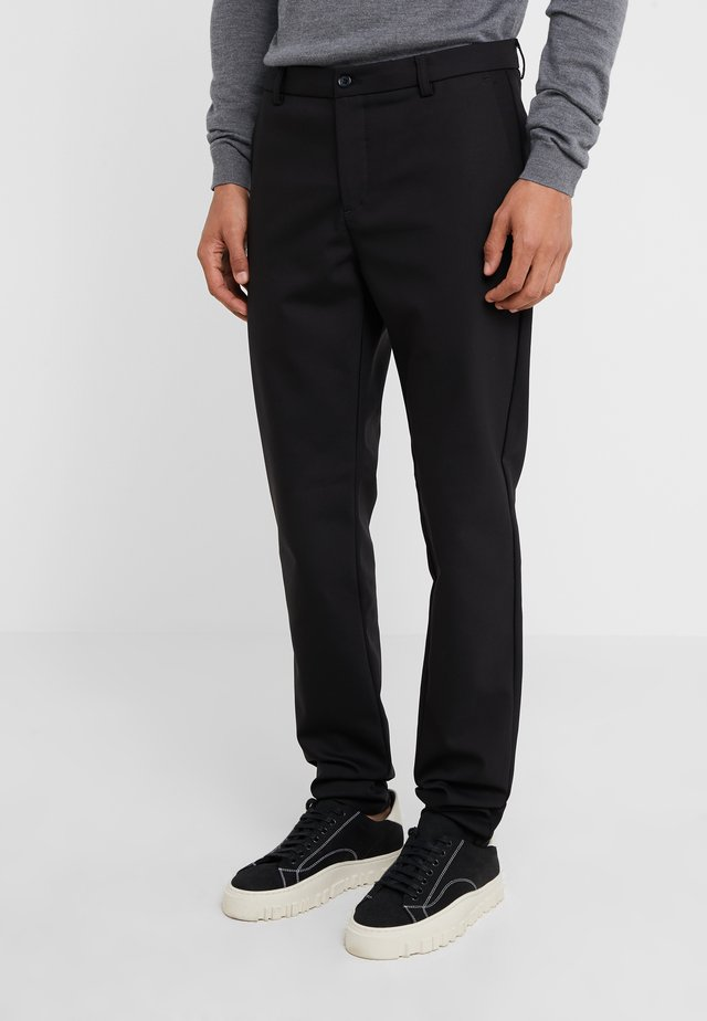 WILL PANT - Trousers - black