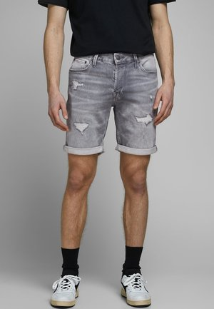 JEANSSHORTS RICK ICON GE 013 - Denim shorts - grey denim