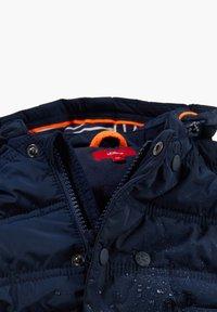 s.Oliver - MIT KONTRAST-DETAILS - Winter jacket - dark blue - 3