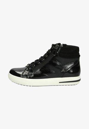 Höga sneakers - black naplak c