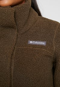 Columbia - PANORAMA LONG JACKET - Fleecová bunda - olive green - 6