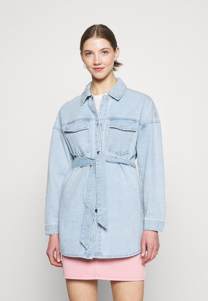 ONLY - ONLSOPHIA LIFE SHIRT JACKET - Jeansjakke - light blue denim