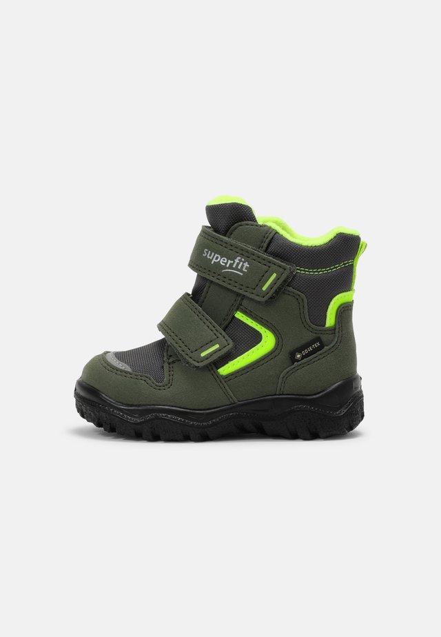 HUSKY - Dětské boty - grün/gelb