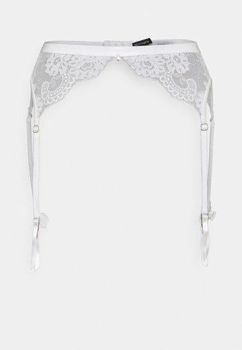 MARRY ME SUSPENDER - Strømpeholdere - white