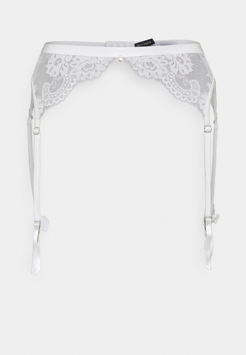 Nly by Nelly - MARRY ME SUSPENDER - Strømpeholdere - white