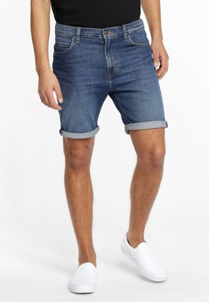 RIDER - Denim shorts - blue denim