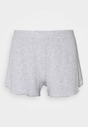 REAL FREE BOXER - Pyjama bottoms - medium heather grey