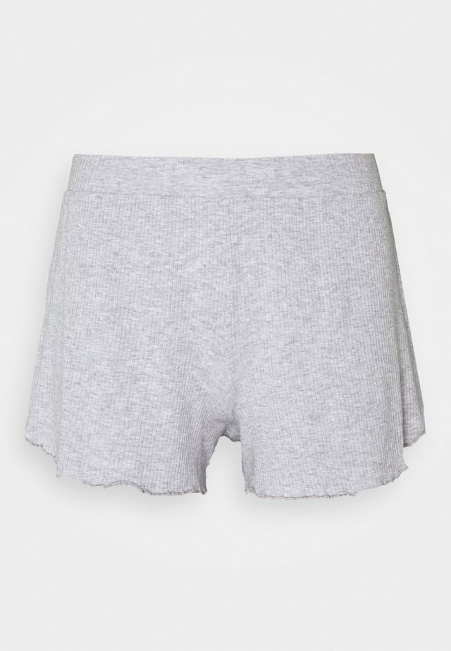 REAL FREE BOXER - Pyjamasbyxor - medium heather grey