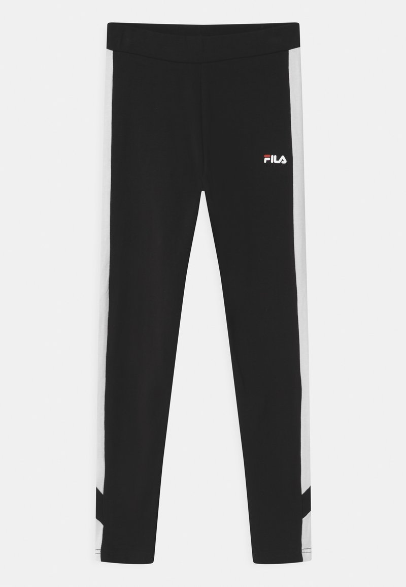Fila - LAYA BLOCKED  - Leggings - black/bright white