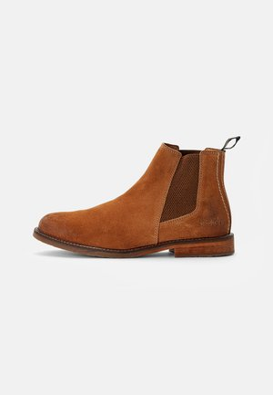 ALPHATRI - Classic ankle boots - camel clair