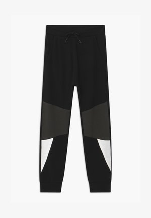 DROPPED CUT  - Tracksuit bottoms - black