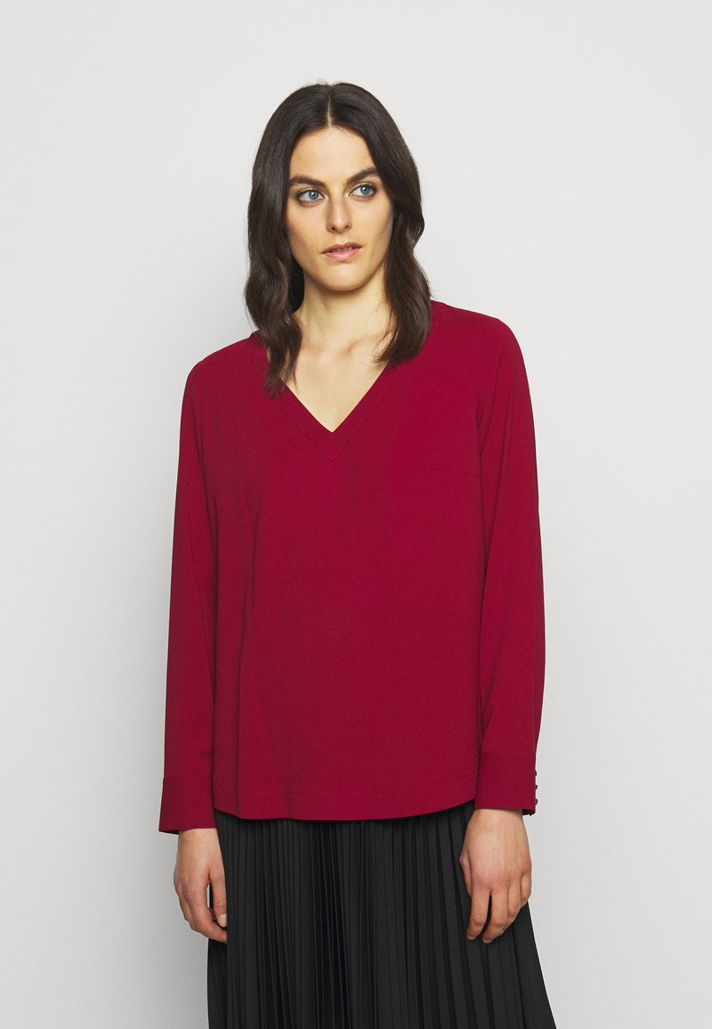 HUGO - CALILE - Blouse - open red