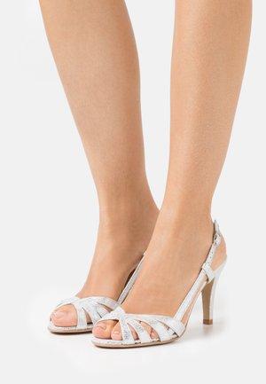 ANDES - High Heel Sandalette - argent