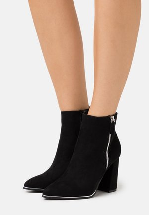 AMARIA RAND DETAIL - High heeled ankle boots - black