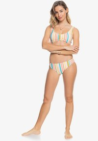 Roxy - Bikini bottoms - bright white aloha stripe - 0