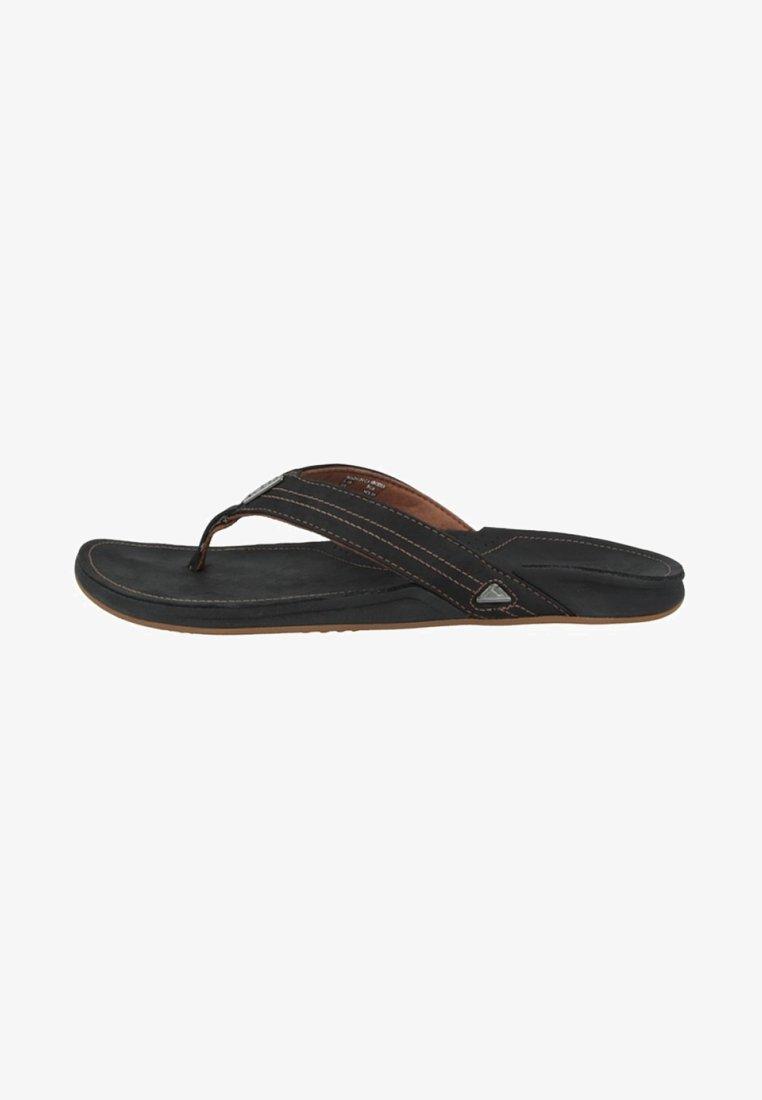 Reef - T-bar sandals - black
