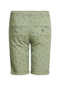 WE Fashion - MET PRINT - Shorts - army green - 1