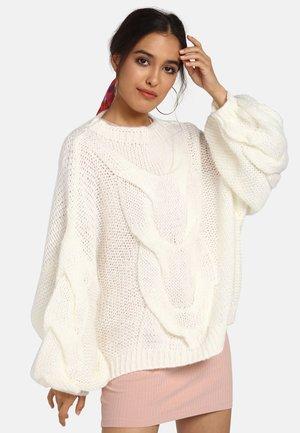 Sweter - woolwhite