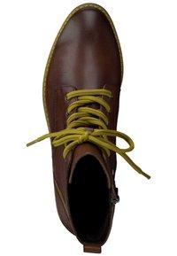 Marco Tozzi - Lace-up ankle boots - cognac ant.com 372 - 1