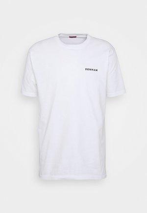 WATERSTONE STONE TEE UNISEX - T-shirt print - white