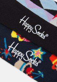 Happy Socks - MAGIC ABSTRACT CARDS SOCK UNISEX 2 PACK - Socks - multi - 1