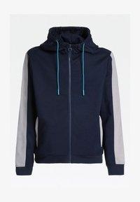 Guess - MIT LOGO HINTEN - veste en sweat zippée - blau - 3