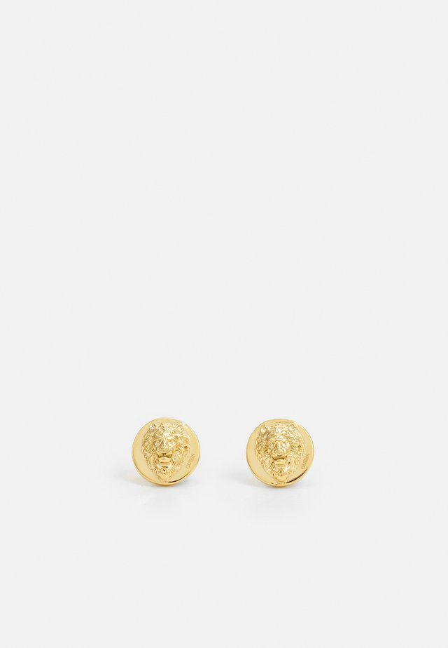LION HEAD STUD UNISEX - Náušnice - gold-coloured shiny