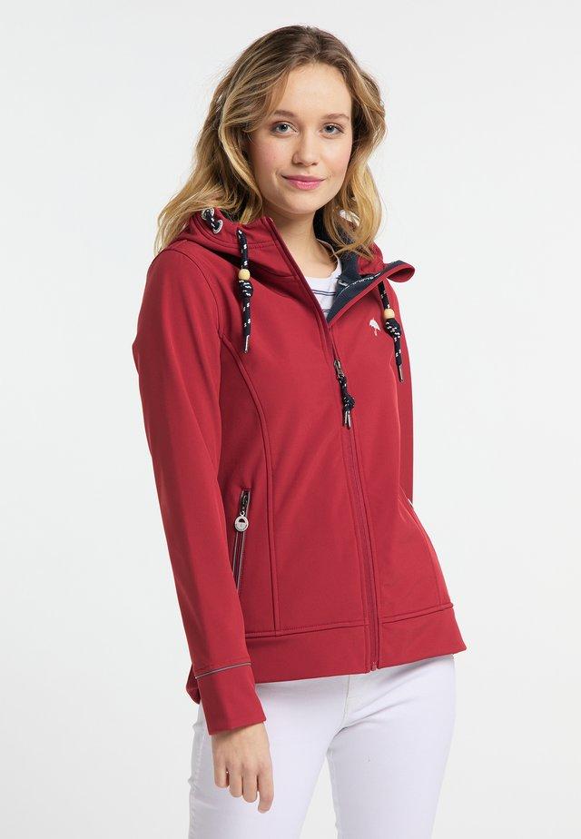 Outdoor jakke - red