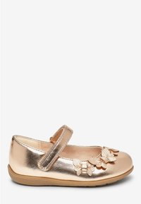 Next - WHITE BUTTERFLY MARY JANE SHOES (YOUNGER) - Baleríny s páskem - gold - 3