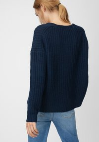Marc O'Polo DENIM - LONG SLEEVE - Jumper - royal blue - 2