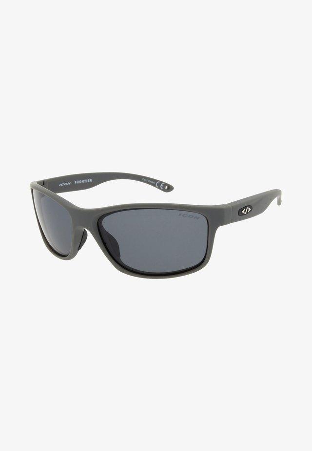 FRONTIER - Lunettes de sport - matt grey