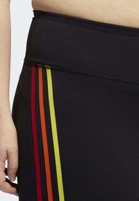 adidas Performance - PRIDE BELIEVE THIS 2.0 3-STRIPES 7/8 LEGGINGS - Medias - black - 5