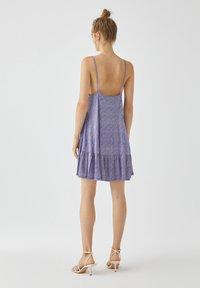 PULL&BEAR - Sukienka letnia - light blue - 2