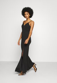 WAL G. - ANNALISE HIGH SPLIT MAXI DRESS - Occasion wear - black - 1