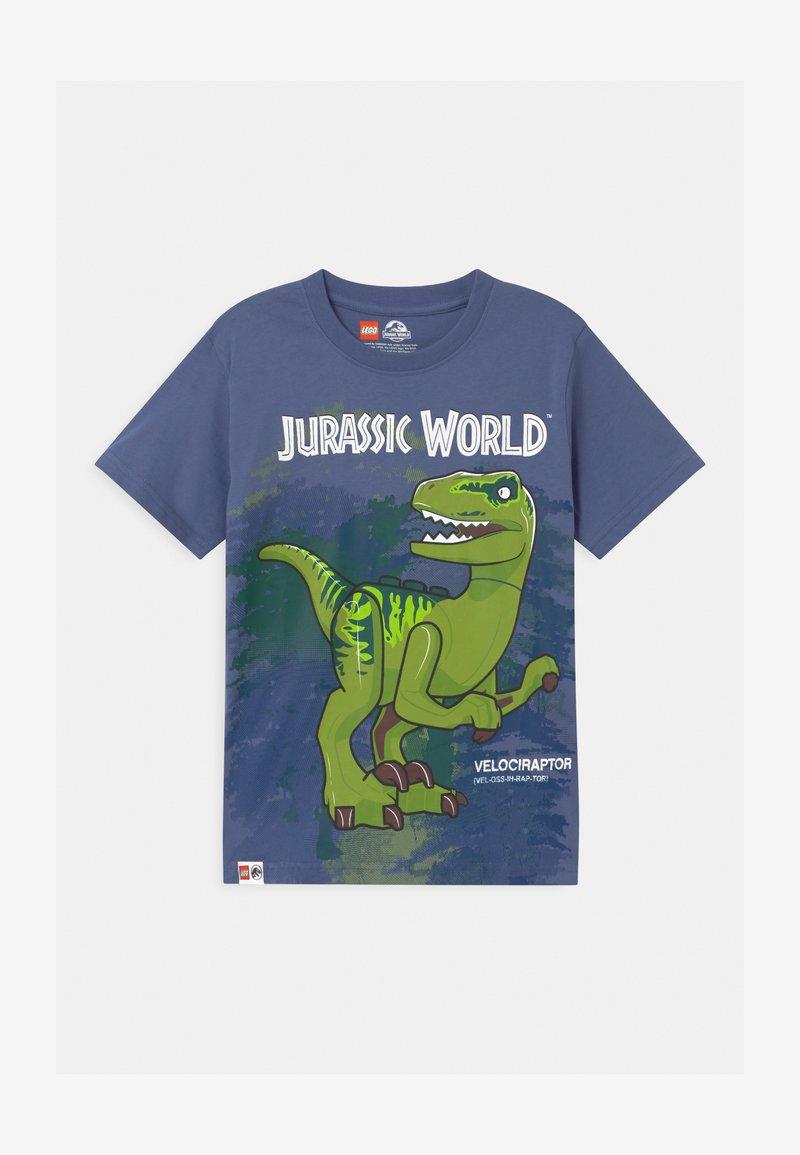 LEGO Wear - JURASSIC PARK - Print T-shirt - light blue