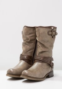 Mustang - Cowboy/Biker boots - taupe - 3