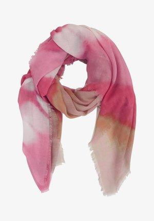 MIT FRANSEN - Scarf - pink/white